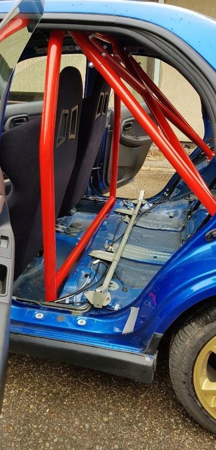 Rollbar Subaru Impreza GD WRX STI - GRUBYGARAGE - Sklep Tuningowy